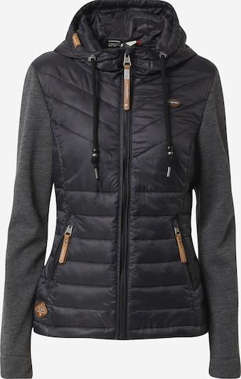 Ragwear Jacke 'Lucinda' in schwarz / schwarzmeliert, Produktansicht