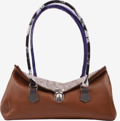 ebarrito Henkeltasche 'HAMLET BAG' in hellbeige / blau / braun / anthrazit, Produktansicht