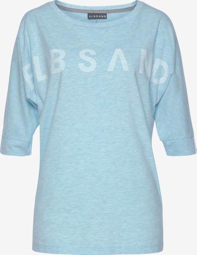 Elbsand Shirt in himmelblau / weiß, Produktansicht