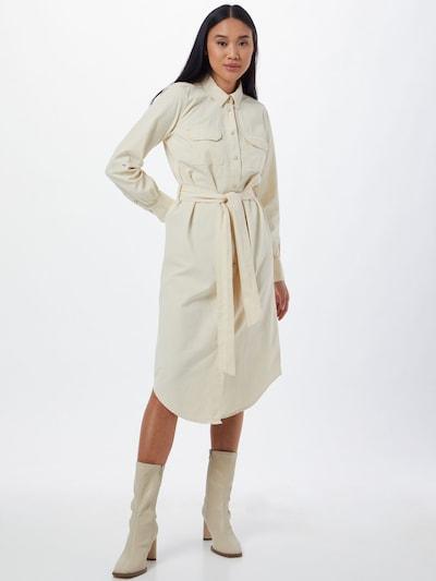 OBJECT Robe-chemise 'CLARIZE' en coquille d'oeuf, Vue avec modèle