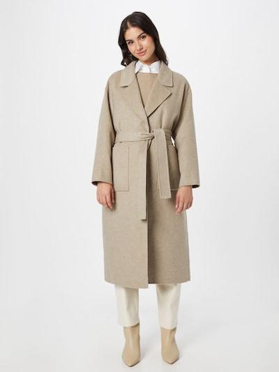 Palton de primăvară-toamnă 'Dadoulove' AMERICAN VINTAGE pe bej, Vizualizare model
