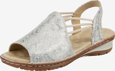 Sandale 'Hawaii' ARA pe argintiu, Vizualizare produs