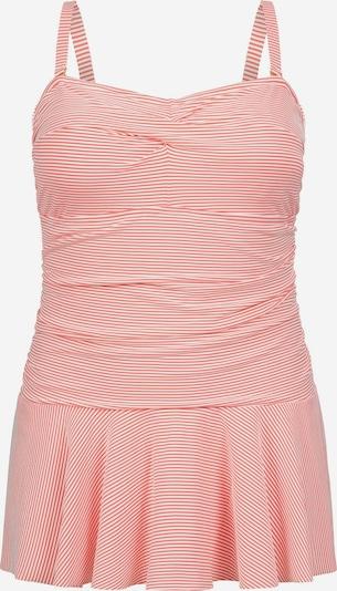 Lauren Ralph Lauren Badeanzug in orange / weiß, Produktansicht