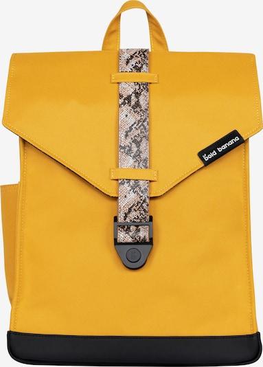 Bold Banana Ruksak u tamo žuta / siva / crna, Pregled proizvoda