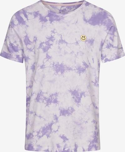 COLOURS & SONS Shirt 'FRANK' in de kleur Lila / Wit, Productweergave