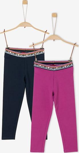 s.Oliver Doppelpack Leggings aus Jersey in pink / schwarz, Produktansicht