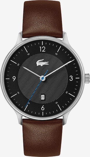 LACOSTE Analogni sat u smeđa / crna / srebro, Pregled proizvoda