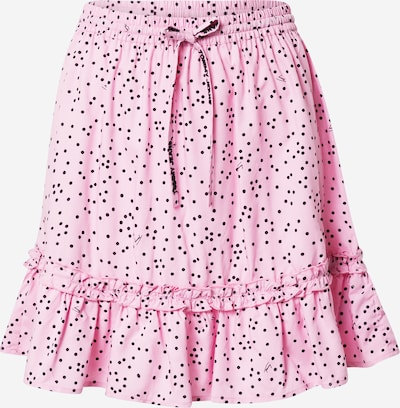 Tommy Jeans Nederdel 'Ruffle' i lyserød / sort, Produktvisning