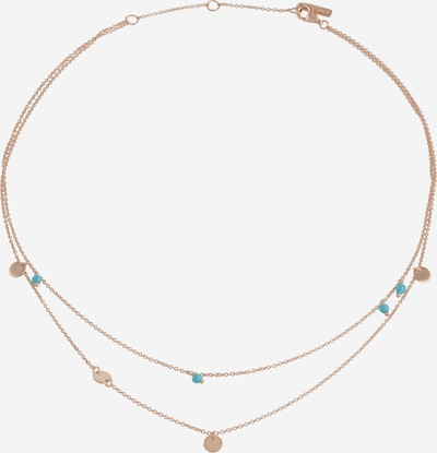 ANIA HAIE Necklace in Turquoise / Rose gold, Item view
