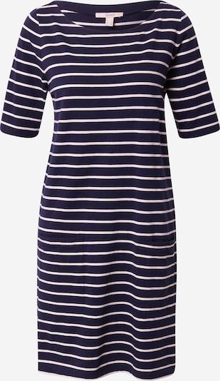 ESPRIT Obleka | mornarska / bela barva, Prikaz izdelka