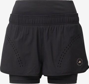 adidas by Stella McCartneySportske hlače - crna boja