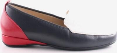 HASSIA Schlüpfschuhe in 38 in rot / schwarz / weiß, Produktansicht