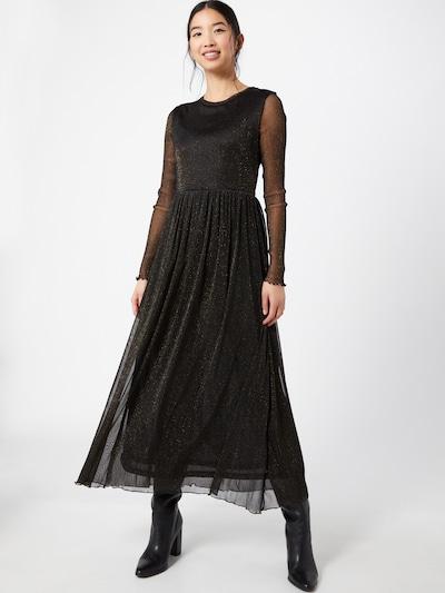 Rich & Royal Kleid in gold / schwarz, Modelansicht