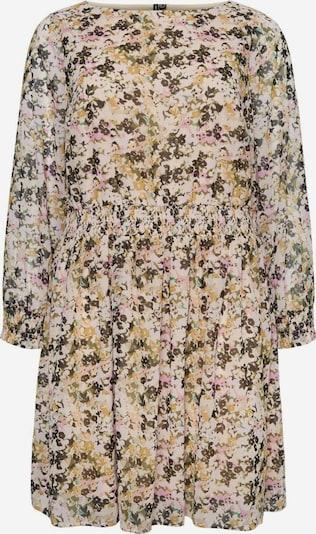 Vero Moda Curve Kleid in beige / mischfarben, Produktansicht