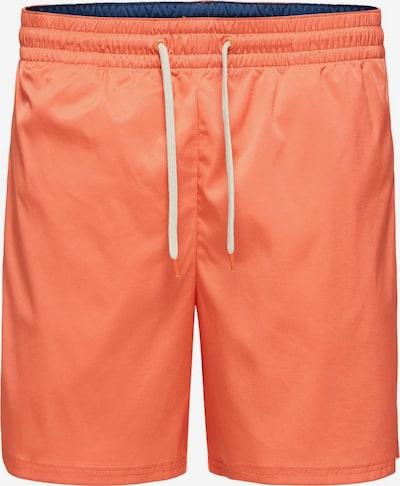 SELECTED HOMME Badeshorts in orange, Produktansicht