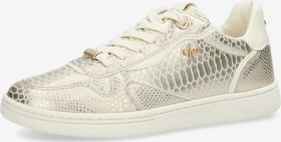 Sneaker low 'GISELLE' MEXX pe auriu / alb, Vizualizare produs