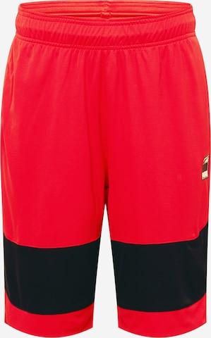 Pantaloni sportivi di PUMA in rosso