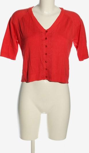 Yest Strickbolero in L in rot, Produktansicht