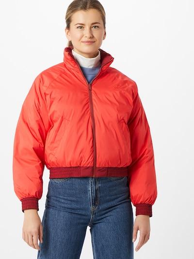 LEVI'S Jacke 'Lydia' in rot / burgunder, Modelansicht