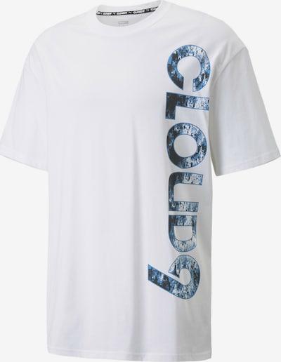 PUMA Functioneel shirt in de kleur Nachtblauw / Hemelsblauw / Offwhite, Productweergave