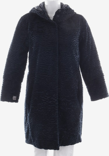 Max Mara Daunenmantel in S in grau / schwarz, Produktansicht