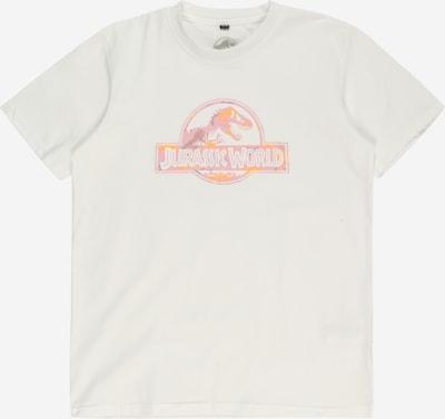 Mister Tee T-Shirt 'Jurassic World' en orange / rose / blanc, Vue avec produit