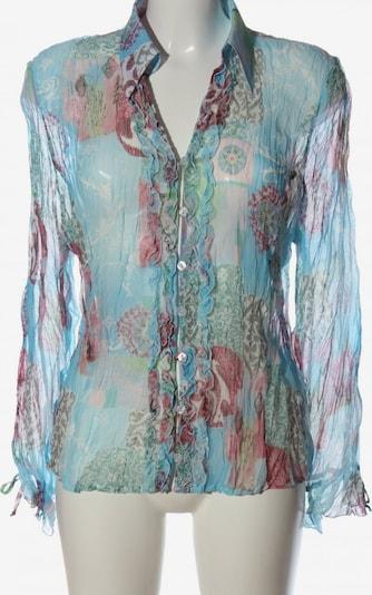 Ambiance Hemd-Bluse in XXL in blau / pink, Produktansicht