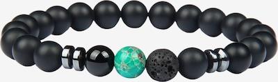 GOOD.designs Armband in grün / schwarz, Produktansicht