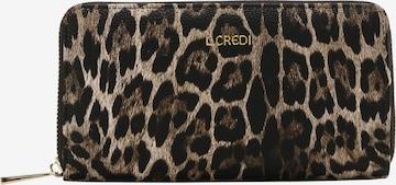 L.CREDI Brieftasche 'HENNA' in Braun
