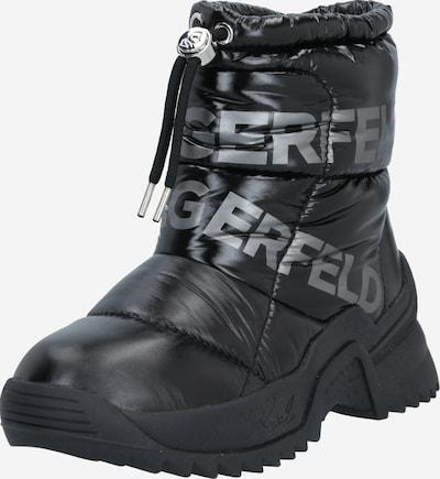 Karl Lagerfeld Škornji za v sneg 'Quest' | siva / črna barva, Prikaz izdelka