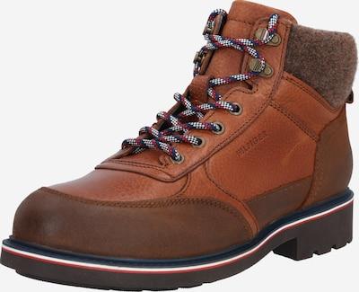 TOMMY HILFIGER Čizme sa vezicama u smeđa / konjak, Pregled proizvoda
