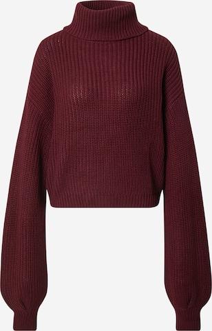raudona NA-KD Megztinis