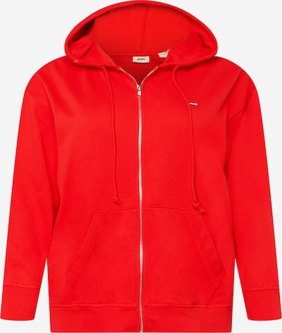 Levi's® Plus Zip-Up Hoodie in Fire red, Item view