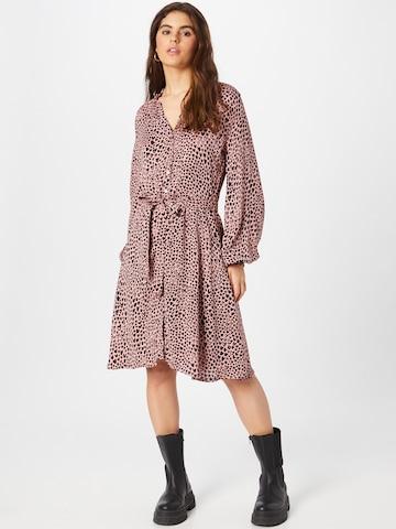Robe-chemise 'Dorien' Fabienne Chapot en rose