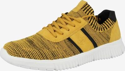 RIEKER Sneaker in blau / gelb, Produktansicht