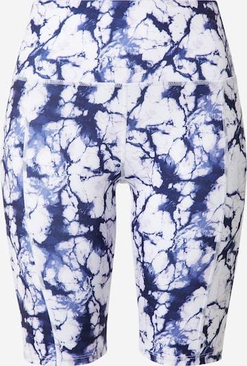 HKMX Pantalon de sport 'Oh My Squat' en bleu foncé / blanc, Vue avec produit