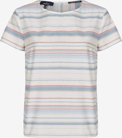 DANIEL HECHTER Shirt in mischfarben / weiß, Produktansicht