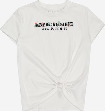 Abercrombie & Fitch Shirt in pastellblau / hellblau / altrosa / schwarz / weiß, Produktansicht