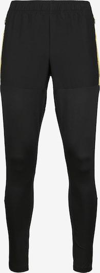 PUMA Sportbroek in de kleur Geel / Zwart, Productweergave