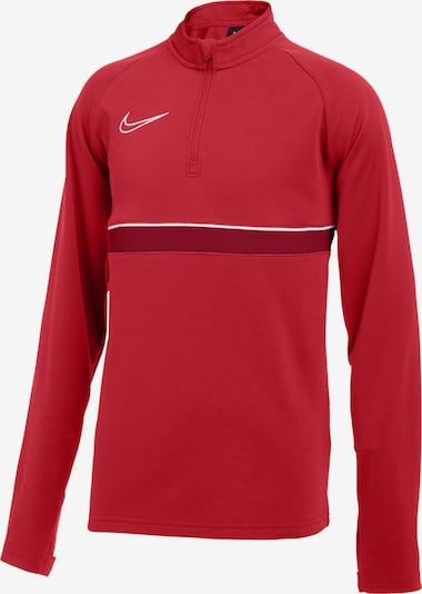 NIKE Sweatshirt in rot / weiß, Produktansicht