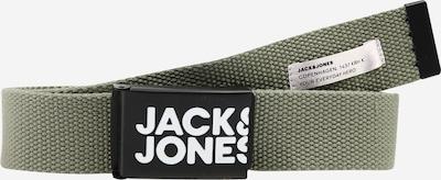 Jack & Jones Junior Gürtel in pastellgrün / schwarz / weiß, Produktansicht