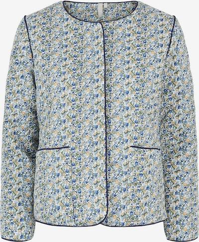 PIECES Blazer in hellbeige / blau / hellblau / hellbraun / grasgrün / weiß, Produktansicht