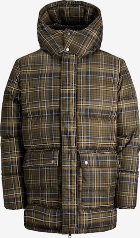 JACK & JONES Winter Jacket 'Tony' in Brown