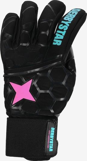 DERBYSTAR Torwarthandschuhe in hellblau / pink / schwarz, Produktansicht