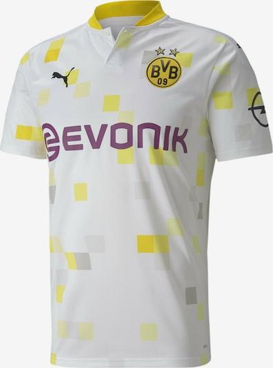 PUMA Trikot 'Borussia Dortmund' in limone / hellgelb / orchidee / schwarz / weiß, Produktansicht