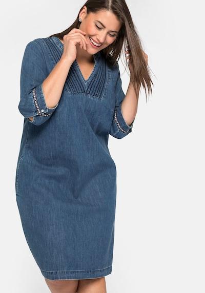 Rochie SHEEGO pe denim albastru, Vizualizare model