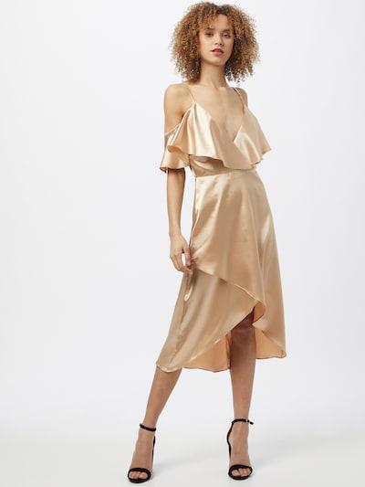 TFNC Kleid 'ANGELA' in gold, Modelansicht