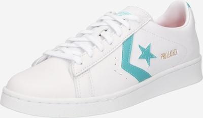 CONVERSE Sneaker in gold / jade / weiß, Produktansicht