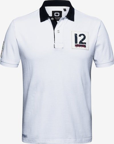 CODE-ZERO Poloshirt 12M Classic Polo in schwarz / weiß, Produktansicht