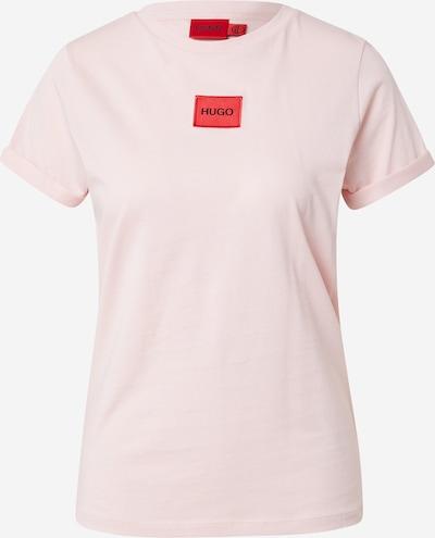 HUGO Shirt in Pastel pink / Red / Black, Item view